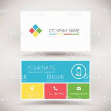 modern business card template stock vector art 531736843 istock