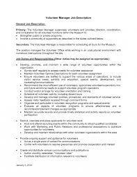 resume sle templates volunteer coordinator resume sle cover letter sles volunteertor