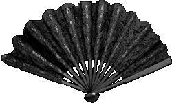 black lace fan black lace fan fancy dress accessory costume ebay
