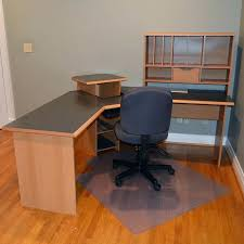 o sullivan computer desk o sullivan computer desk osullivan l workcenter with floor mat and
