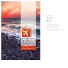 vacation flyer by martz90 on deviantart