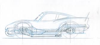 classic cars drawings pixar animation studios
