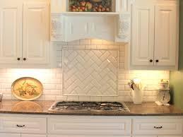 interior amazing white backsplash tile subway tile in kitchen