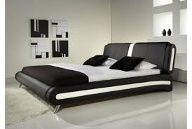 bedroom marvelous italian double bed designs black and white