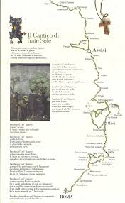Assisi Italy Map by Cammino Di Assisi Australian Friends Of The Camino