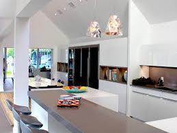 Sloped Ceiling Lighting Gray Countertop Pendant Light Bar Stools Sloped Ceiling Floor Tile