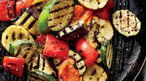 grilled vegetables with creamy turmeric sauce recipe health