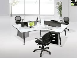 desk for 3 people high quality wooden stylish office desk for 3 person buy office