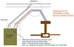 i purchased a hampton bay ceiling fan i had to run new electrical