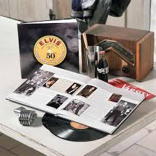 50th anniversary photo album 50th anniversary elvis album book