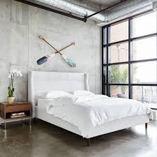 Modern Bed Frames Carmichael Bed Beds Gus Modern
