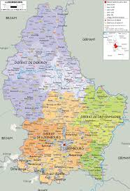 Map Of Belgium And Germany by Maps Of Luxembourg Map Library Maps Of The World