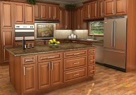 Lowes Hickory Kitchen Cabinets by Desk Height Base Cabinets Lowes Great Base Pots And Pans
