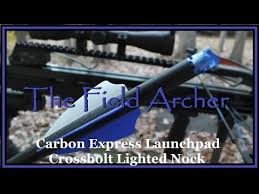 nockturnal lighted nocks for parker crossbows crossbow carbon express launchpad lighted nock youtube