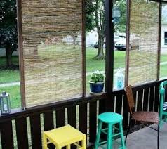 Inexpensive Backyard Privacy Ideas Backyard Privacy Ideas Make Screens From Strips Of Bamboo Fencing