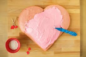 how to make a gorgeous heart shaped cake without a special pan
