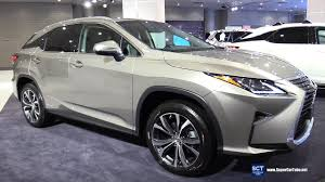 lexus rc interior 2017 2017 lexus rx 450h exterior and interior walkaround 2017 new