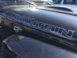 rhino jeep 2 door smokey mountain special edition wranglers u2013 kevinspocket