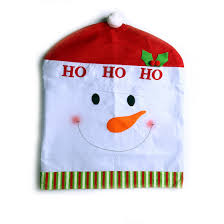 snowman chair covers must christmas chair back covers unique christmas decorations
