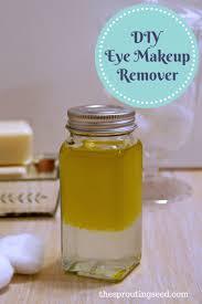 diy natural eye makeup remover jojoba or olive oil witch hazel