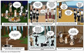 thanksgiving 1620 my first thanksgiving storyboard by jbarrado