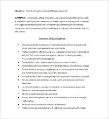 Business Analyst Resume Samples by Marketing Analyst Resume Template U2013 16 Free Samples Examples