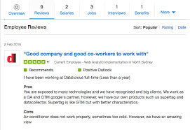 glass door jobs reviews join our team datalicious