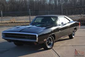 1970 dodge charger 500 dodge charger 500 black ac power steering disc brakes original