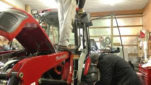 led tractor light bar mictuning led light bar install on the mahindra tractor youtube