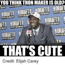 Nba Draft Memes - 25 best memes about thon thon memes