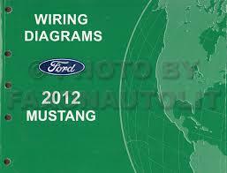 2012 mustang manual 2012 ford mustang wiring diagram manual original
