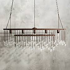 Rectangle Chandeliers Large Rectangle Chandelier Home Decorating Pinterest
