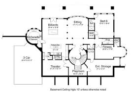 house plan with basement colonial house plan with 5 bedrooms and 4 5 baths plan 8079