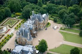 waddesdon manor aerial view waddesdon manor buckinghamshire jason hawkes
