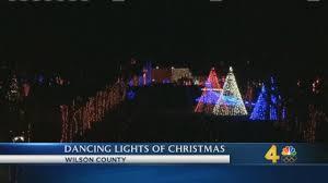 christmas lights lebanon tn dancing lights of christmas exhibit opens in lebanon wsmv news 4