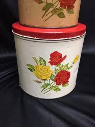 1952 vintage kitchen canister set gsw