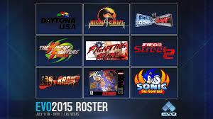 evo 2015 evo 2015 lineup announced u2014 shoryuken