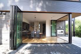 Patio Door Design Ideas Bi Folding Glass Doors Exterior Dining Room Patio Door Designs