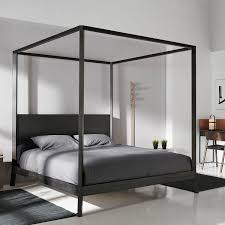 letto matrimoniale a baldacchino legno letto a baldacchino doppio moderno in legno breda brd508