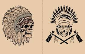 9 indian skull designs and their meanings