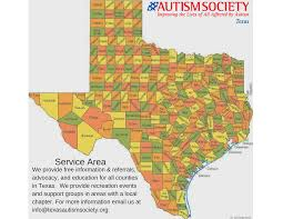 Van Texas Map The Autism Society Of Texas U2013 Autism Society Of Texas