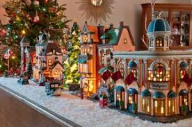 christmas villages history of christmas villages my merry christmas