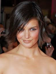 layered flip hairstyles katie holmes straight choppy flip bob hairstyle this style is a