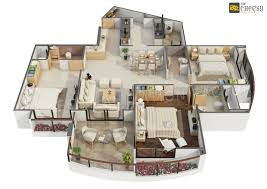 the cheesy animation studio 2d and 3d floor plan rendering and