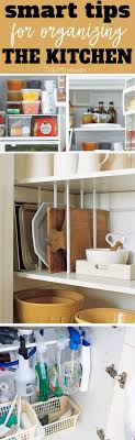ideas for kitchen organization smart organizing tips for the kitchen