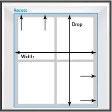 window measurements guest blog measuring your windows for roller blinds thehome com