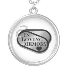 in loving memory dog tags remembrance necklaces lockets zazzle
