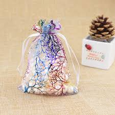 organza gift bags aliexpress buy 15pcs lot 9x12cm coralline organza gift bags