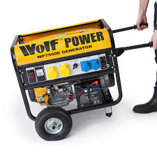wolf 7000w petrol generator with electric start system ukhs tv