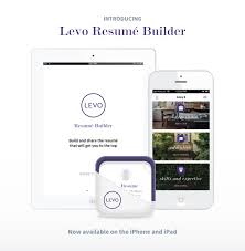 Tutoring On A Resume Levo League U0027s Resume App Puts Sheryl Sandberg In Your Back Pocket